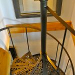 The Black Mulberry Tree apt. staircase