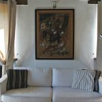 The Olive Tree apt. sofa