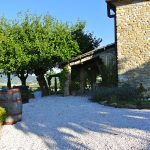 Villa The Stables private garden and patio