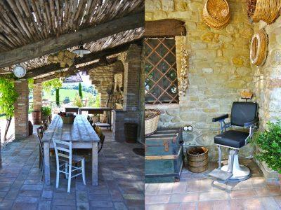 Villa The Stables patio