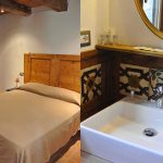 The White Mulberry Tree apt. bedroom 1 and bathroom details