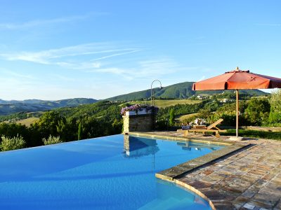 The Infinity pool at La Corte del Gusto