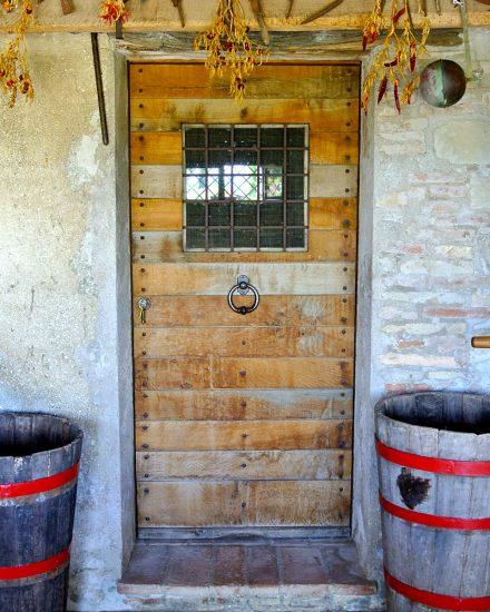 Cellar entrance