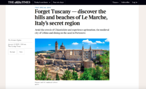 The Times_Le Marche article